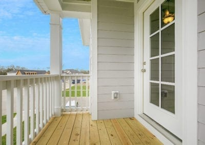 The Brigham- Second Story Porch