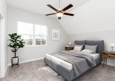 The Ingram - Master Bedroom (Virtually Staged)